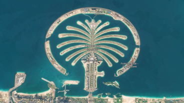 Abu Dhabi - satellite